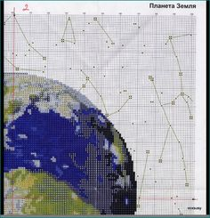 Borduurpatroon Allerlei & Vanalles Kruissteek *Cross Stitch Pattern  ~Aarde 3/6~