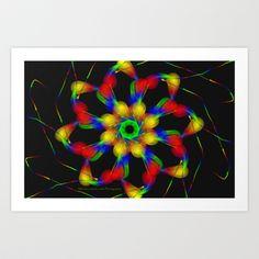 Fractal Art Print by Marisa Lopez-Cruzan - $13.52