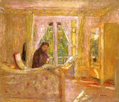 The Sunny Room - Edouard Vuillard c.1920
