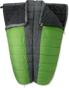 REI Siesta +35 Double Sleeping Bag in Taro Leaf green