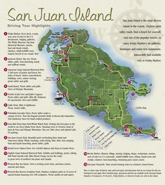 San Juan Island Map stayed a week on Orca Island. It is area artsy area. (reccomend taking ferry from anacortes and staying in Friday Harbor at Island Inn. Go to Roche harbor Washington State, Friday Harbor Washington, Forks Washington, Denver Colorado, Colorado Springs, Pig War, Puerto Rico, Orcas Island, Island Map