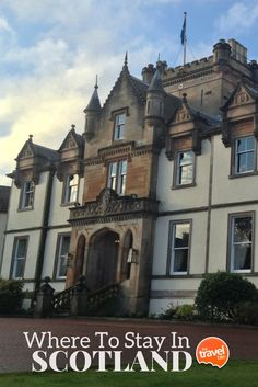Recommendations for where to stay in Scotland, from Edinburgh to the highlands. From travel and food expert Rachelle Lucas of TheTravelBite.com.  Post --> http://thetravelbite.com/travel_and_food_blog/where-to-stay-in-scotland/