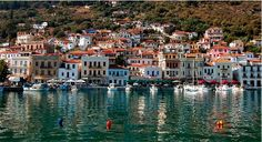 Greece - port city of Gytheio