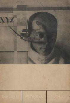 Roh, Franz - Tschichold, Jan  Foto-Auge. Oeil et photo. Photo-eye. Akademischer Verlag, Dr. Fritz Wedekind & Co., Stuttgart, 1929. In-4 (29,5 x 21 cm). Première édition (trilingue), brochée. Couverture illustrée de El Lissitsky. 76 photographies de notre temps choisies par Franz Roh et Jan Tschichold. Couverture souple illustrée