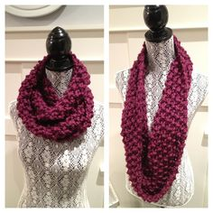 Womens Knit Cowl, Scarf, Snood.  Super soft and warm.