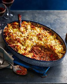 We've taken a classic shepherd's pie up a notch with a rich, slow-cooked lamb shank filling and a crispy potato rösti-inspired topping.