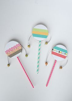 Kids' Parties: DIY Musical Instruments by AliceandLois for Julep