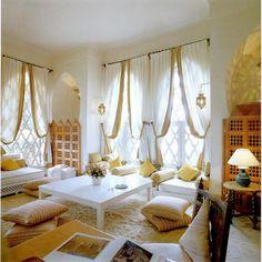 Sitting area in Palais de la Zahir, Talitha Getty's room