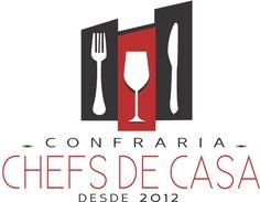 Logotipo para Confraria - Chefs de Casa  #Confraria #logotipos #logos #logotipo #inspiration #logosfacil