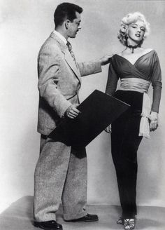 One of Marilyn Monroe rare pants costumes in GENTLEMEN PREFER BLONDES