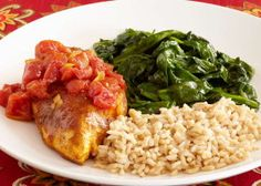 102 best recipes images on pinterest healthy eating habits heart moroccan chicken with brown rice and lemon sauteed spinach soul food recipeshealthy forumfinder Choice Image