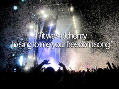 """""""To make love where there was none."""" - My favorite Above & Beyond"""