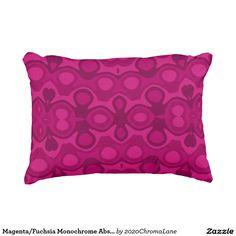 Magenta/Fuchsia Monochrome Abstract Pattern Design