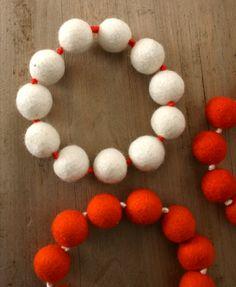 25 Ways to Use Felt Balls this Holiday Season