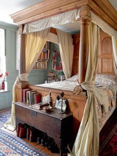 English country bedroom...