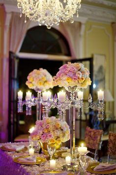 4 arms with flower bowl 80cm 31.4inch Tall crystal candelabra candle holder wedding table centerpieces home table decoration