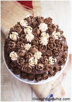 Buttercream Flowers (Russian Piping Tips) Recipe:   Mein Blog: Alles rund um Genuss & Geschmack  Kochen Backen Braten Vorspeisen Mains & Desserts!
