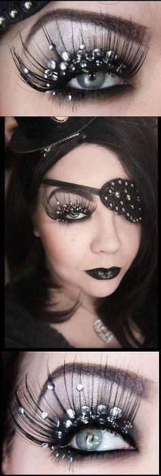 Pirate makeup . | Makeup | Pinterest | Pirate makeup, Jack sparrow ...