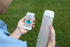 The HidrateMe smart water bottle