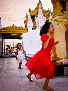 every childhood shoube be vivid@Yangon, Myanmar