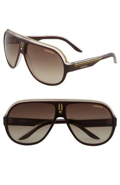 3115eae449 Carrera Eyewear  Speedway  63mm Aviator Sunglasses available at  Nordstrom  Luxury Sunglasses