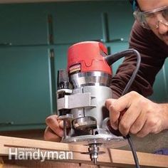Advanced Router Techniques - Article: The Family Handyman