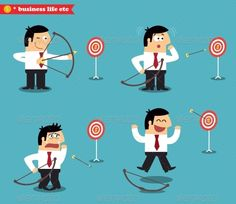 Business Goal Statuses  #GraphicRiver         Business goal statuses vector illustration. Editable EPS and Render in JPG format                     Created: 3 December 13                    Graphics Files Included:   JPG Image #Vector EPS                   Layered:   No                   Minimum Adobe CS Version:   CS             Tags      Objectives #advantage #arrow #business #competition #concept #design #failure #focus #goal #hit #ideas #lose #marketing #miss #model #performance #plan…