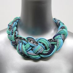 Cotton Collar Necklace