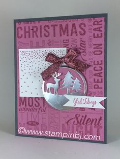 LOVE this Merry Medley+Wishes+Tags combo!  See what it's all about!