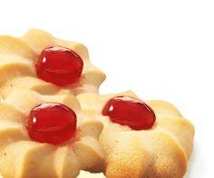 Shortbread cookies with cherries Recipe | Dr. Oetker