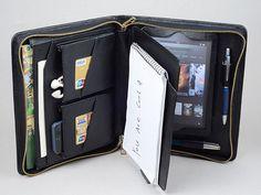 Mini mini de iPad de Apple cartera de cuero con por leathercase