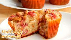 Muffin de morango