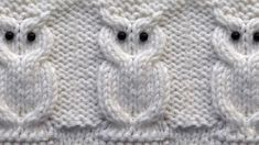 Cool knitting pattern of the owl Owl Knitting Pattern, Easy Knitting Patterns, Knitting Charts, Lace Knitting, Knitting Stitches, Crochet Patterns, Knitting Needles, Crochet Owl Hat, Knitted Owl