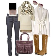 A fashion look from January 2013 featuring Vero Moda cardigans, BKE tops and Pudel jeans. Browse and shop related looks.
