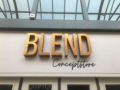 #gevelreclame #bedrijfsreclame #signing #blend #gold #oldgold #design #bls #blssignenprint #onverlichtereclame
