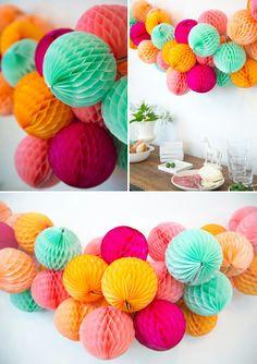 Honeycombslinger - mooie kleuren!