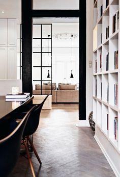 This is the fabulous home of Danish fashion designer and co-founder of clothing company Munthe plus Simonsen , Naja Munthe. Naja commission...