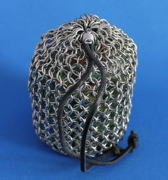 Handcrafted Chainmail Stainless Steel Bag Pouch | JulieKindtStudio - Bags & Purses on ArtFire