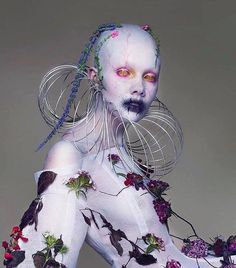 I recently discovered the beautiful and fascinating creative duo [photograph by (fecal matter) Character Concept, Concept Art, Character Design, Fantasy Makeup, Fantasy Art, Human Oddities, Arte Horror, Maquillage Halloween, Makeup Art