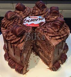 Kinder Bueno Chocolade Taart | Kinder Bueno Chocolate Cake | Ramadanrecepten.nl