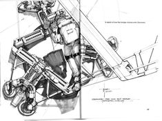 Syd Mead concept art for the movie 2010