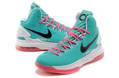 best authentic e4e47 ee478 Nike Zoom KD V New Green Pink-White  Mens Nike KD V-