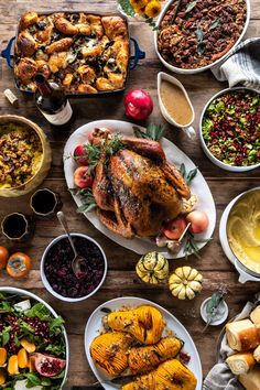 Our 2019 Thanksgiving Menu and Guide. - Half Baked Harvest