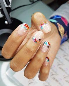 Cute Nail Art Designs, Nail Polish Designs, Nail Polish Colors, Cute Nails, Pretty Nails, Wedding Nail Polish, Nagellack Design, Short Nails Art, Birthday Nails