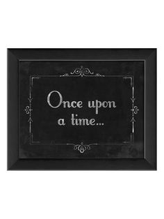 Silent Movie Once Upon a Time from Art Oddities: Vintage-Inspired Pieces on Gilt