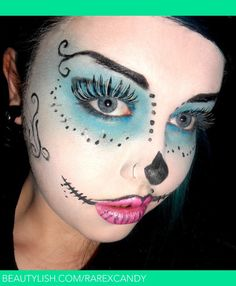 Skelita Calaveras: Monster High! | Kayleigh S.'s (RarexCandy) Photo | Beautylish