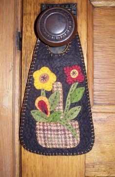 Flower Basket Door Hanger Kit by JustJills on Etsy, $17.50