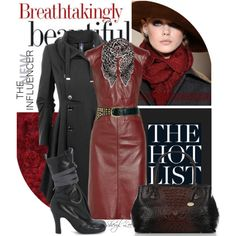 Oxblood by sheryl-lee on Polyvore featuring polyvore, fashion, style, Derek Lam, HIGH, Vivienne Westwood, Brahmin, Yves Saint Laurent, ASOS and LIST