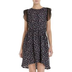girl. by Band of Outsiders Fuzzy Print Dress