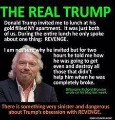 Richard Branson on Trump